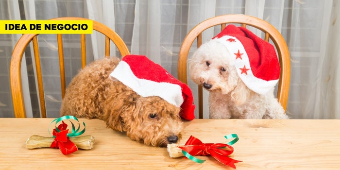 Idea de negocio: ¡Consciente a los 'perrhijos y gathijos' con cenas de fin de año para mascotas!