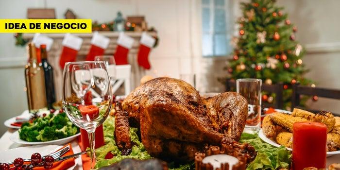 Idea de negocio: ¡Abre un servicio de preparación de cenas de fin de año!