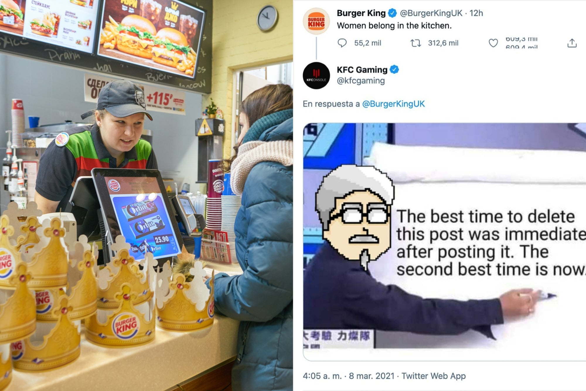 Burger King Tweets Women Belong In The Kitchen And Social Media Is On Fire