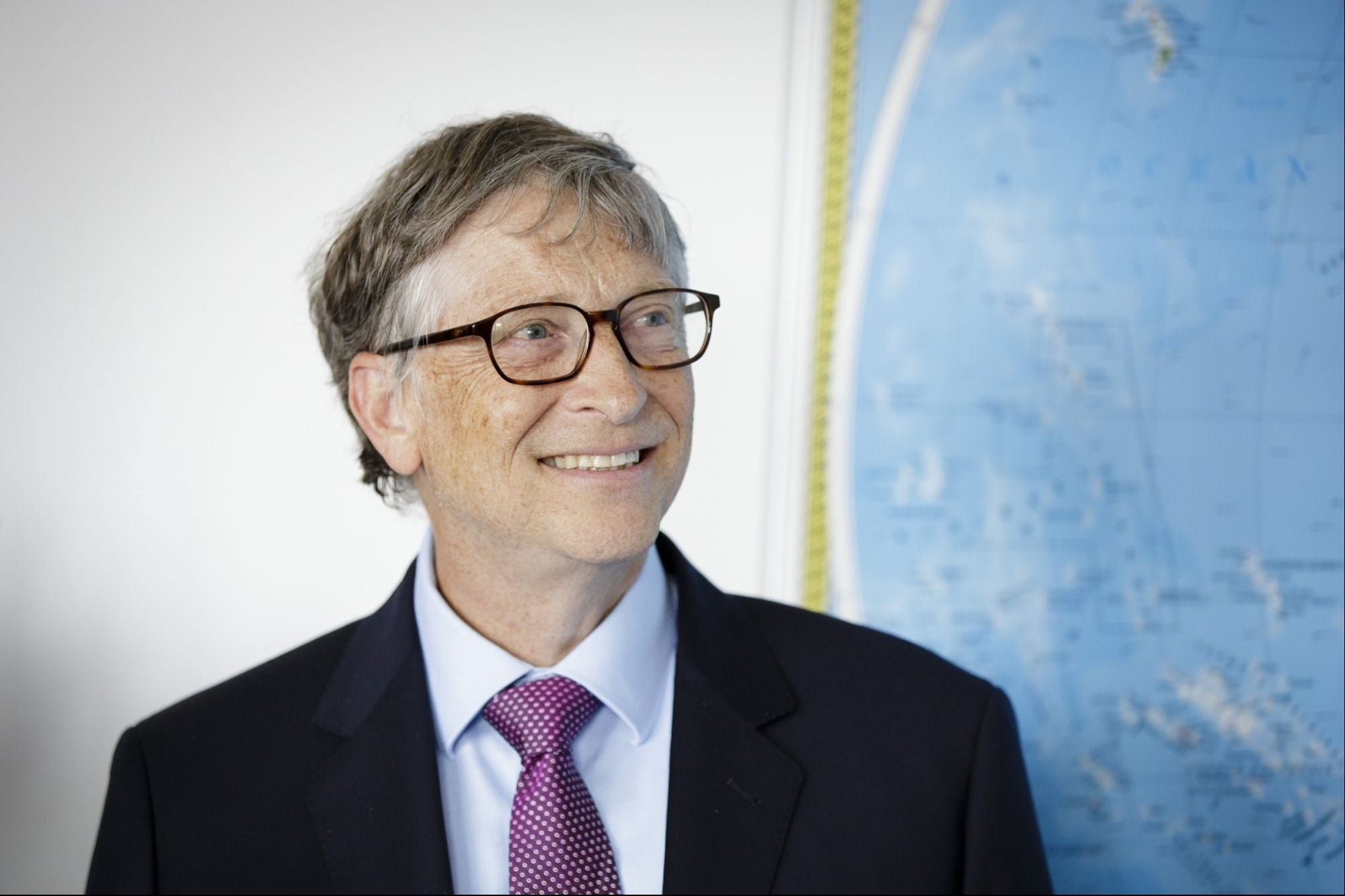 Bill Gates supports project to cool Earth with 'chalk dust'