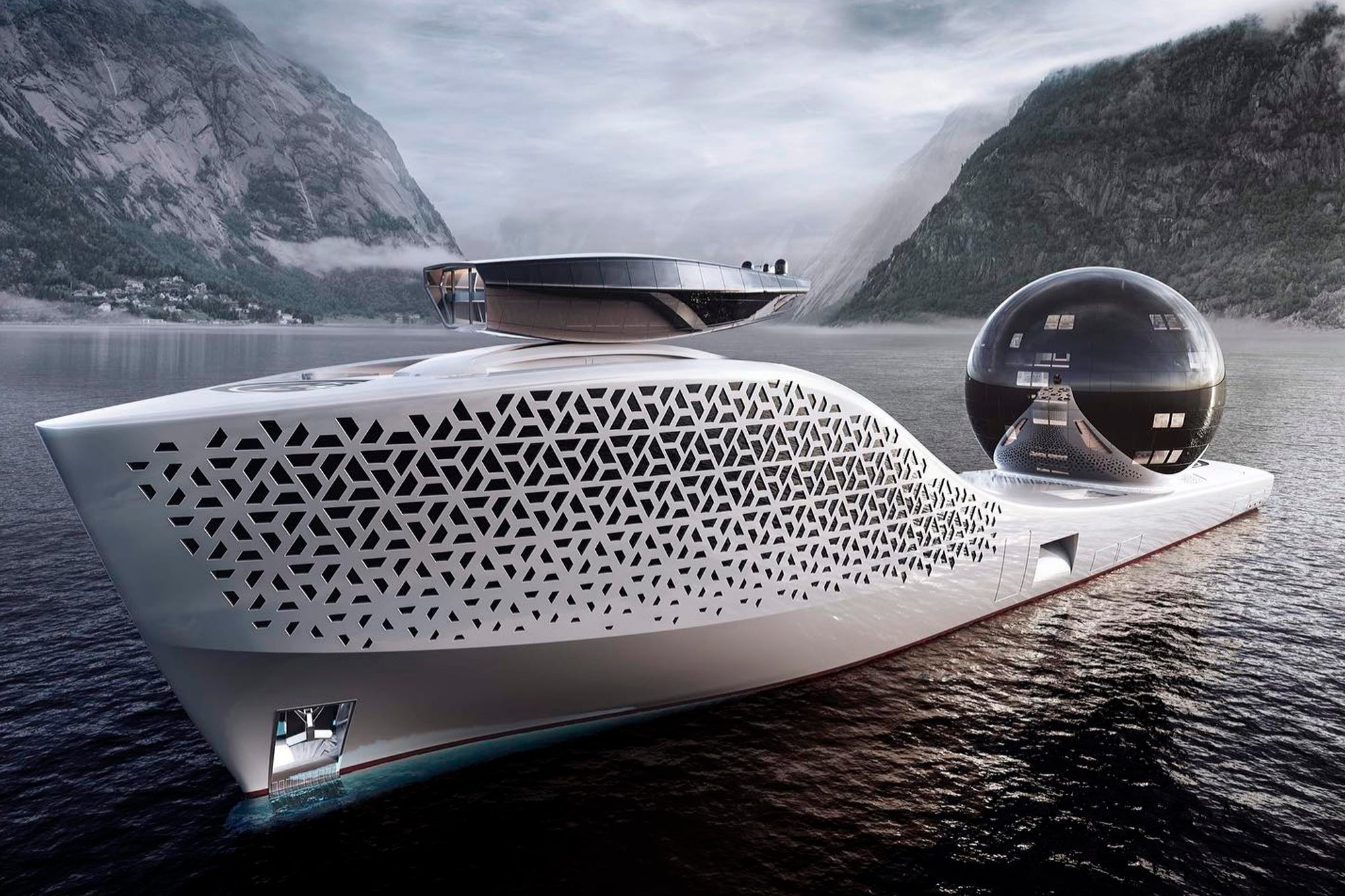 They offer nuclear yacht tours full of millionaires, scientists and celebrities for
