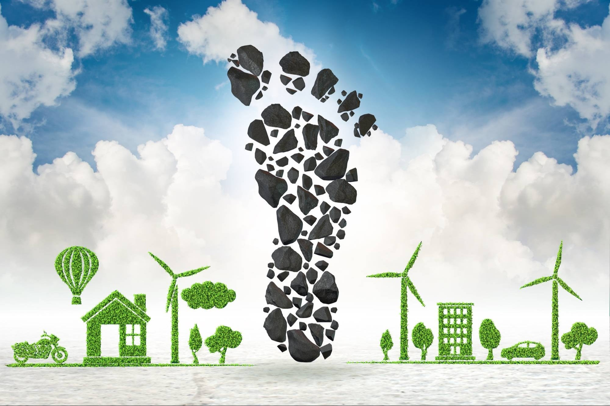 Do you want to know what your carbon footprint is? Mastercard presented a tool to calculate it