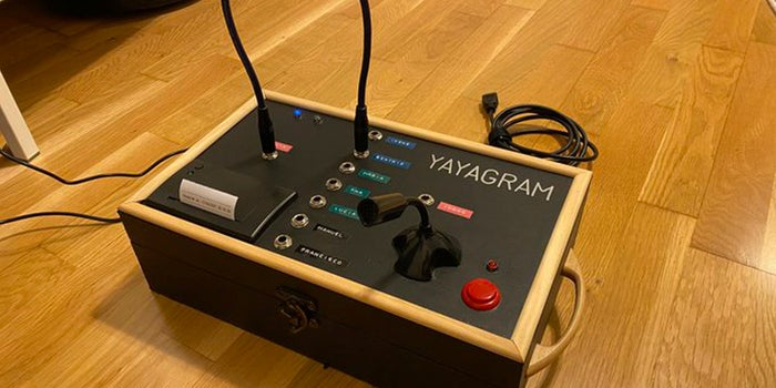 Meet 'Yayagram', the device created by a young man to communicate with his grandmother