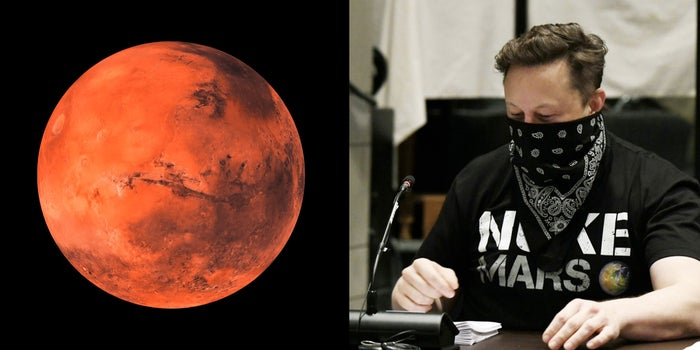 A German Scientist Predicted That a Person Named 'Elon' Would Lead Humans to Mars