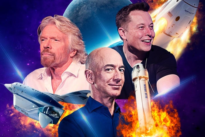 Millionaires in space 2! Tourism off Earth