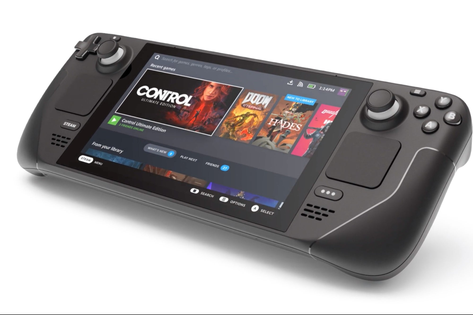 They present Steam Deck, a portable video game device similar to the Nintendo Switch, Digital Rumble, digitalrumble.com