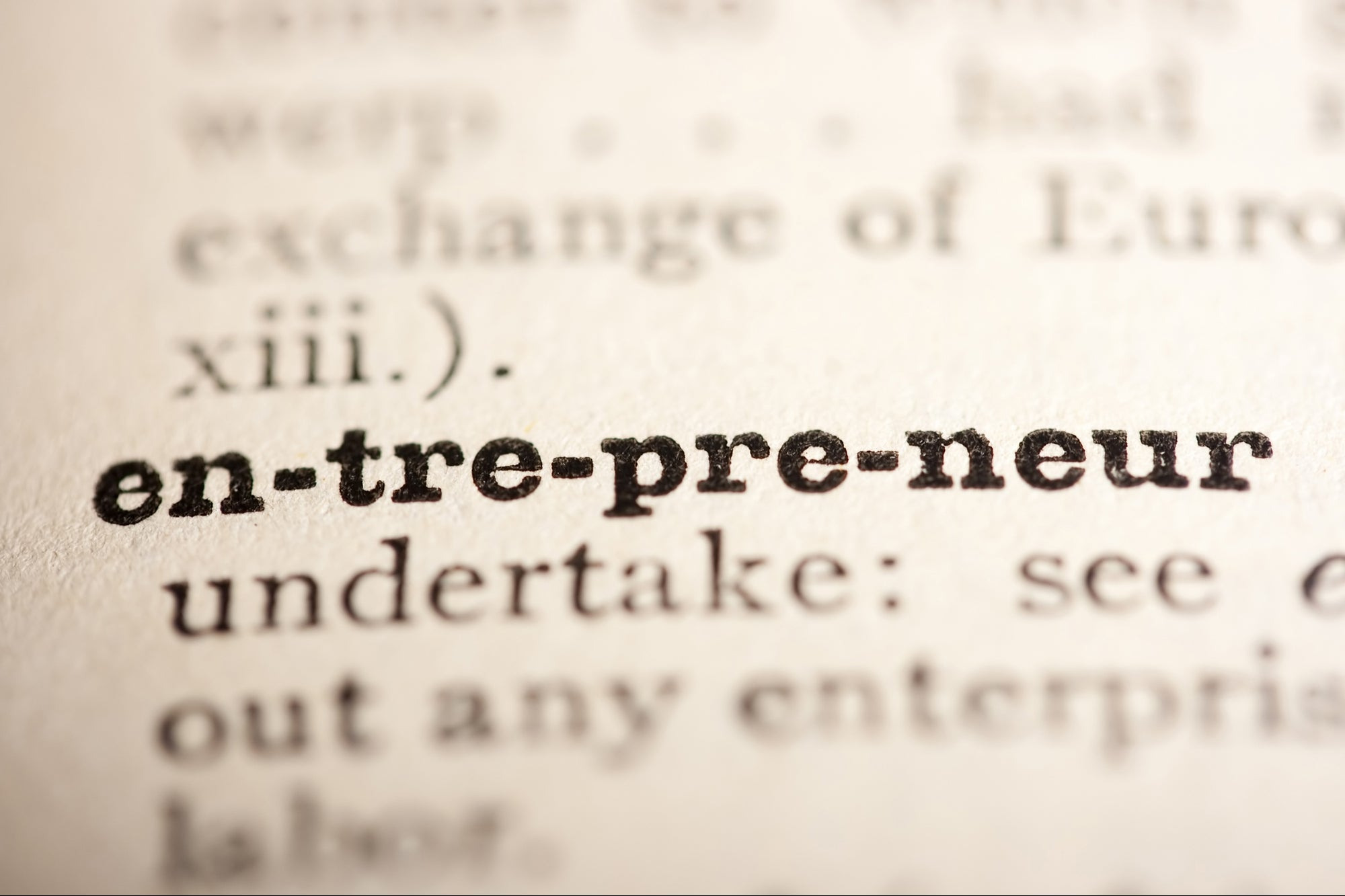 Has the Word 'Entrepreneur' Lost Its Meaning?