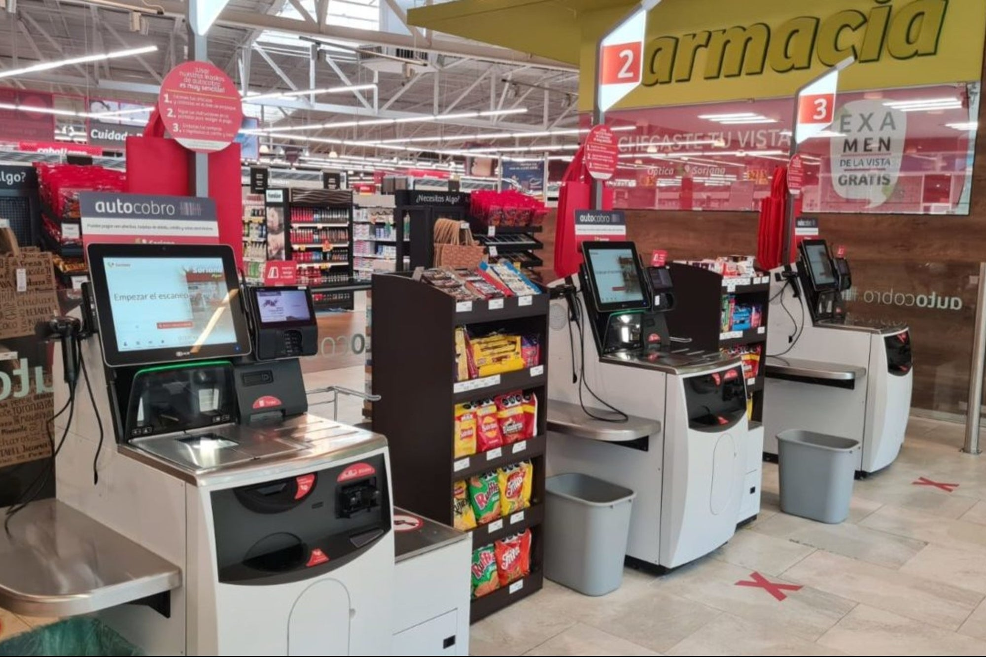 Soriana is going to install self-collection boxes in a branch of Nuevo León