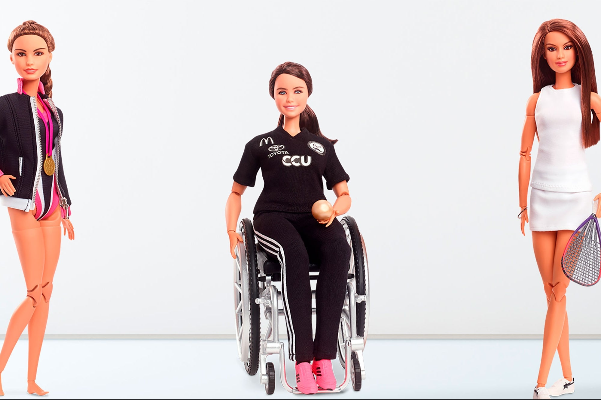 Barbie launches three dolls in tribute to Latin American athletes