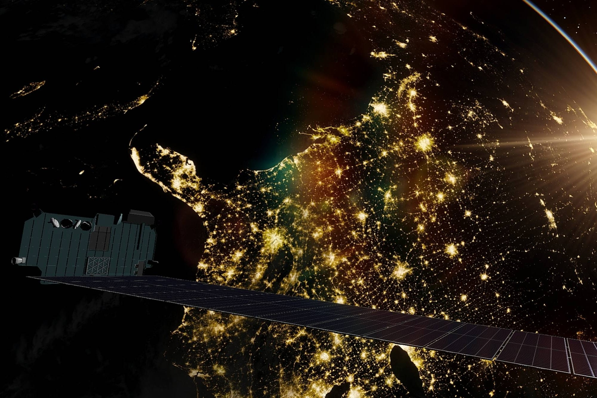 Elon Musk Starlink's internet will be 40% faster than the speed of light on fiber optics: Elon Musk thumbnail