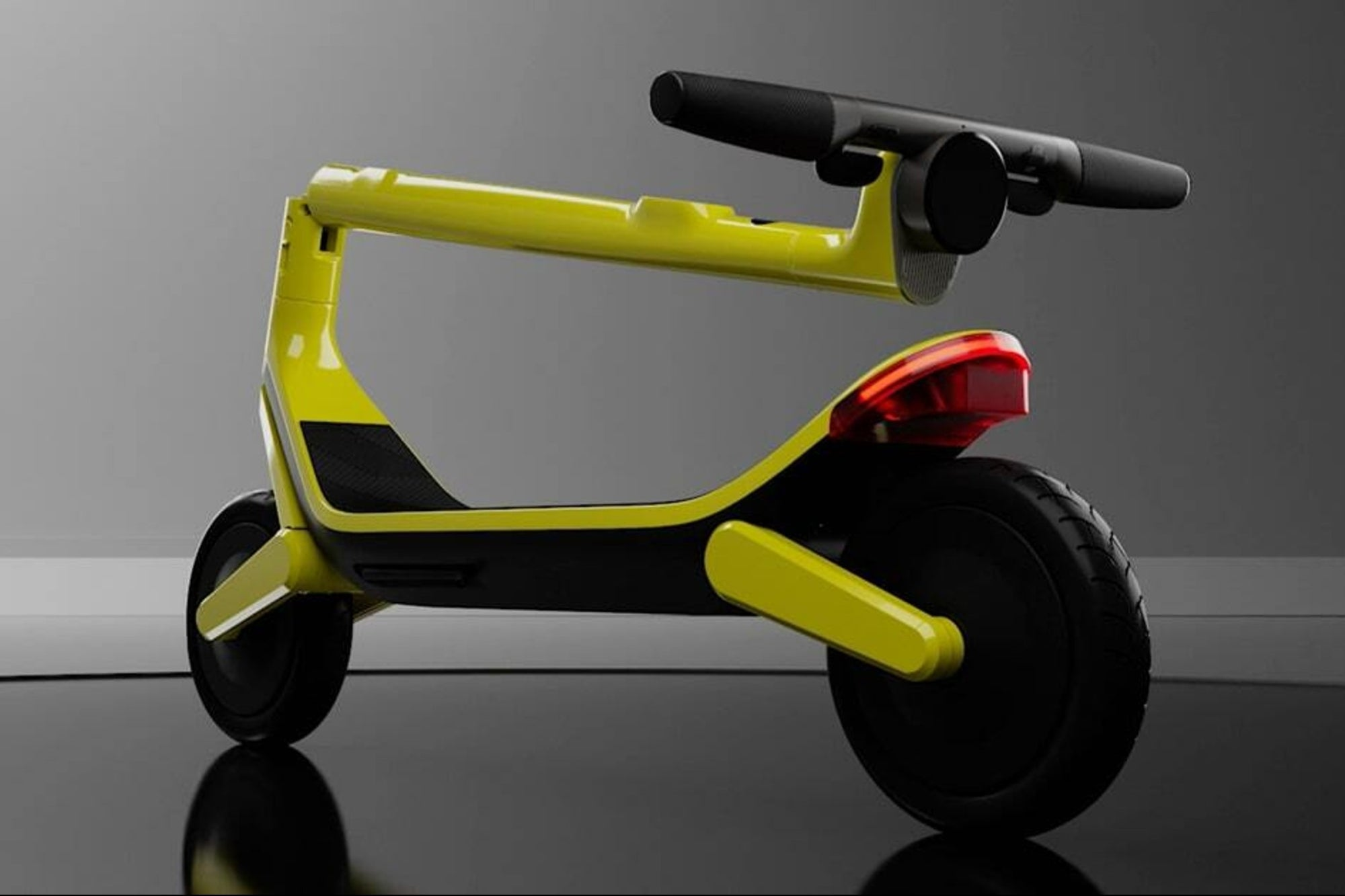 They launch an electric scooter that plays music and avoids obstacles