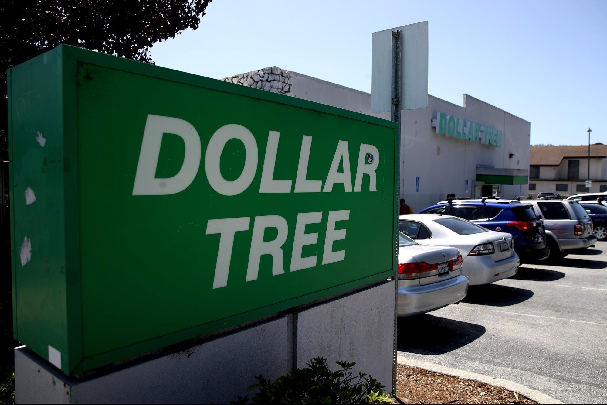 Dollar Tree Cracks $1 Price Point as Inflation Bites