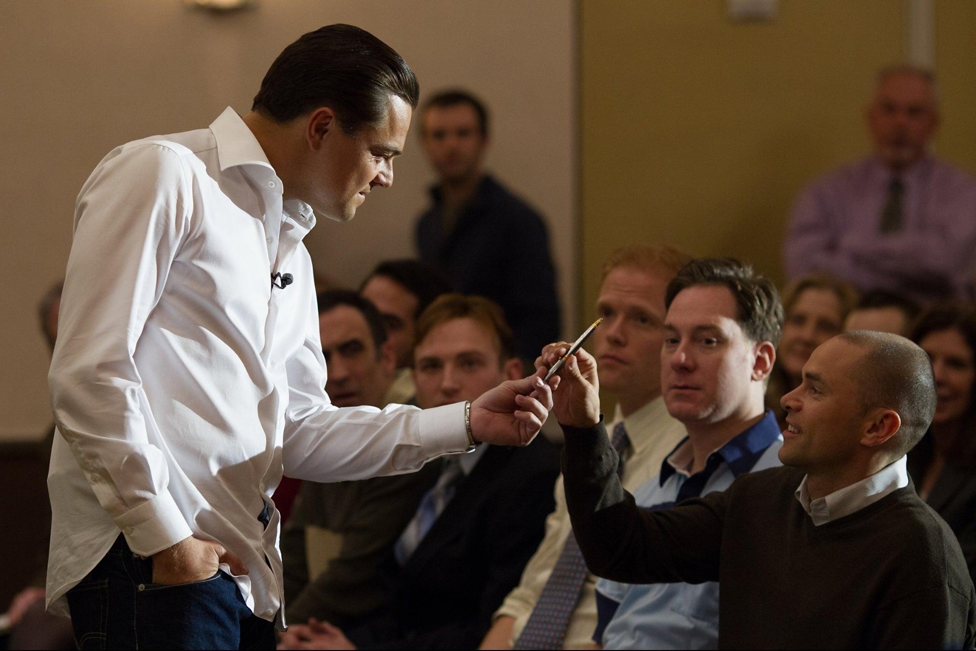 Does Jordan Belfort's 'Sell Me This Pen' Sales Trick Actually Work?