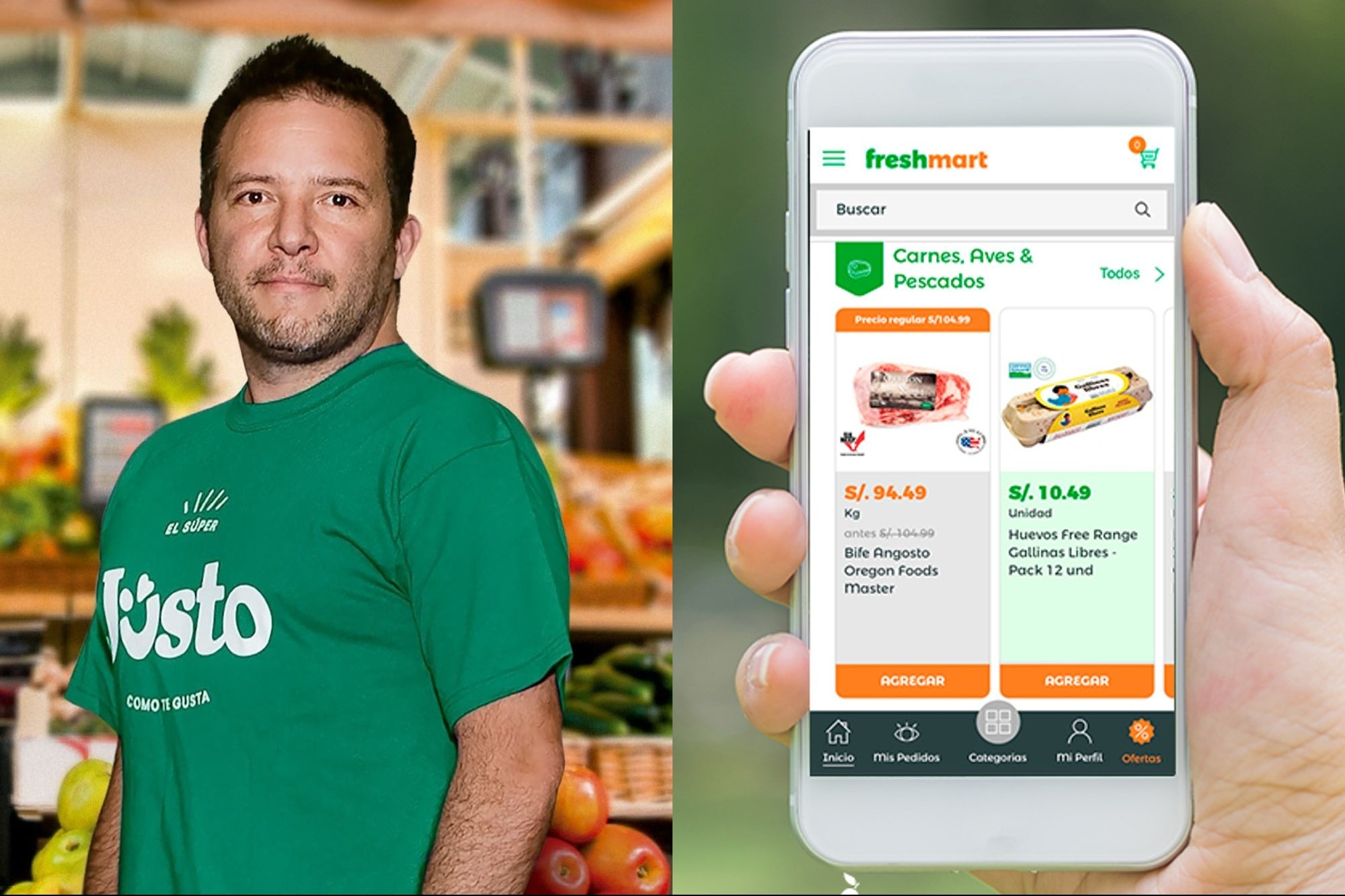 Mexican Jüsto buys startup Freshmart to expand to Peru