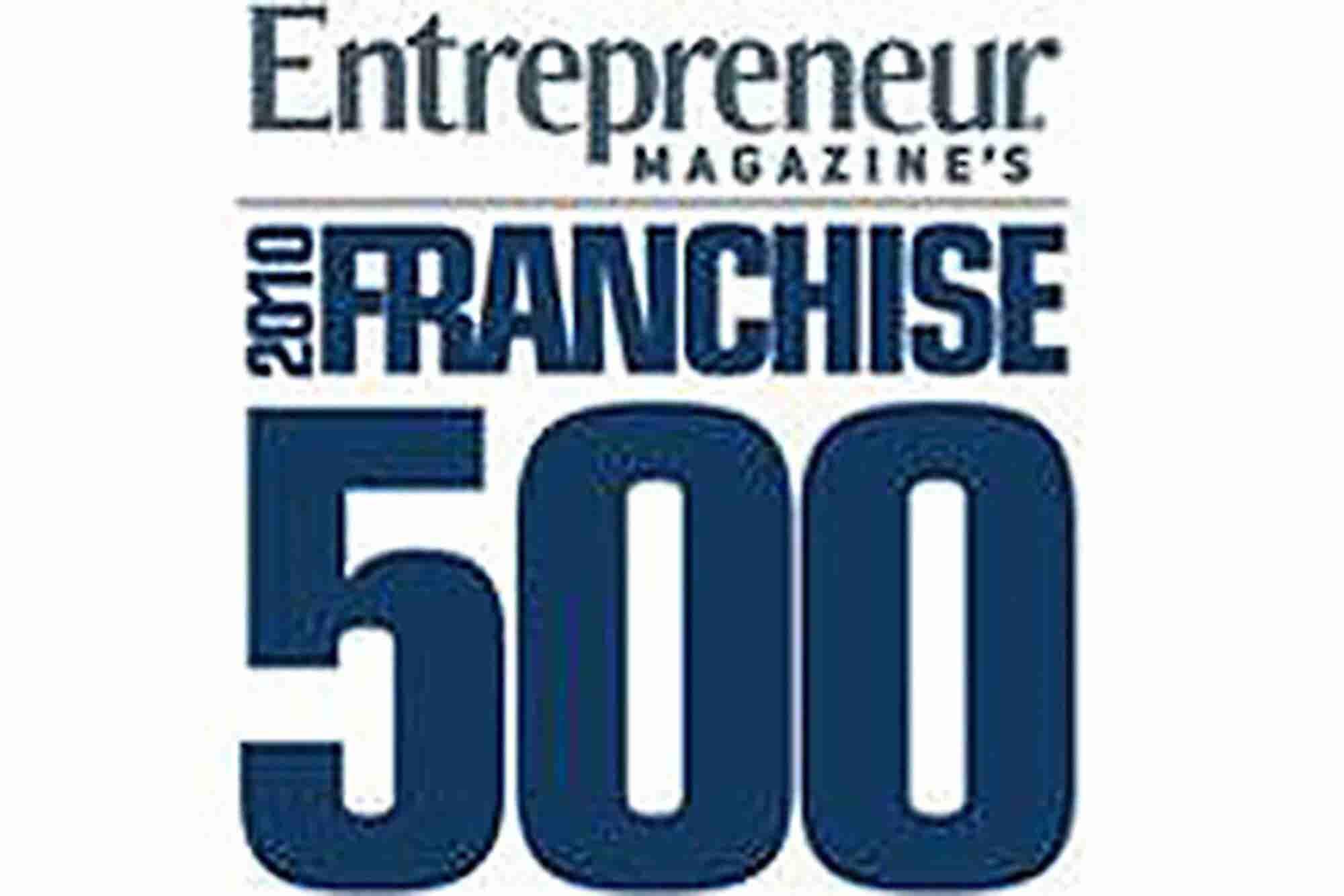 2010 Franchise 500 Top 10