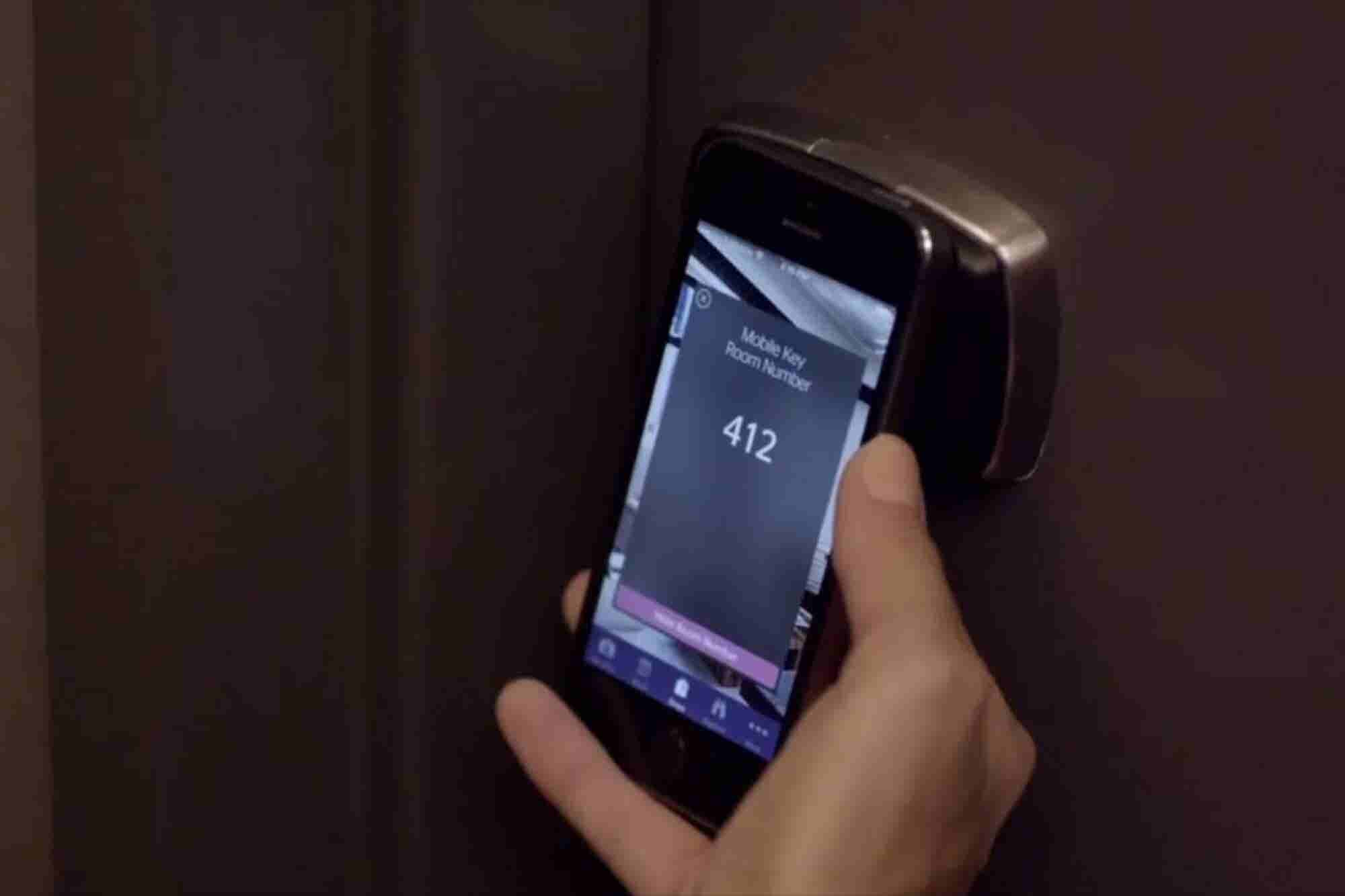 This Major Hotel Chain Now Lets You Access Your Room by Smartphone