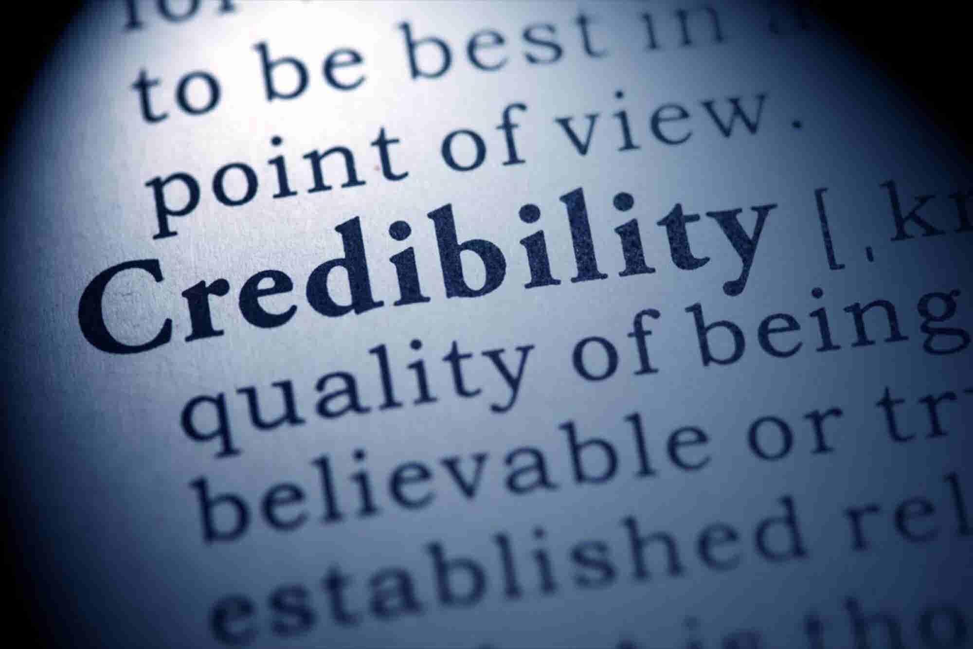 3 Quick Ways to Build Massive Sales Credibility