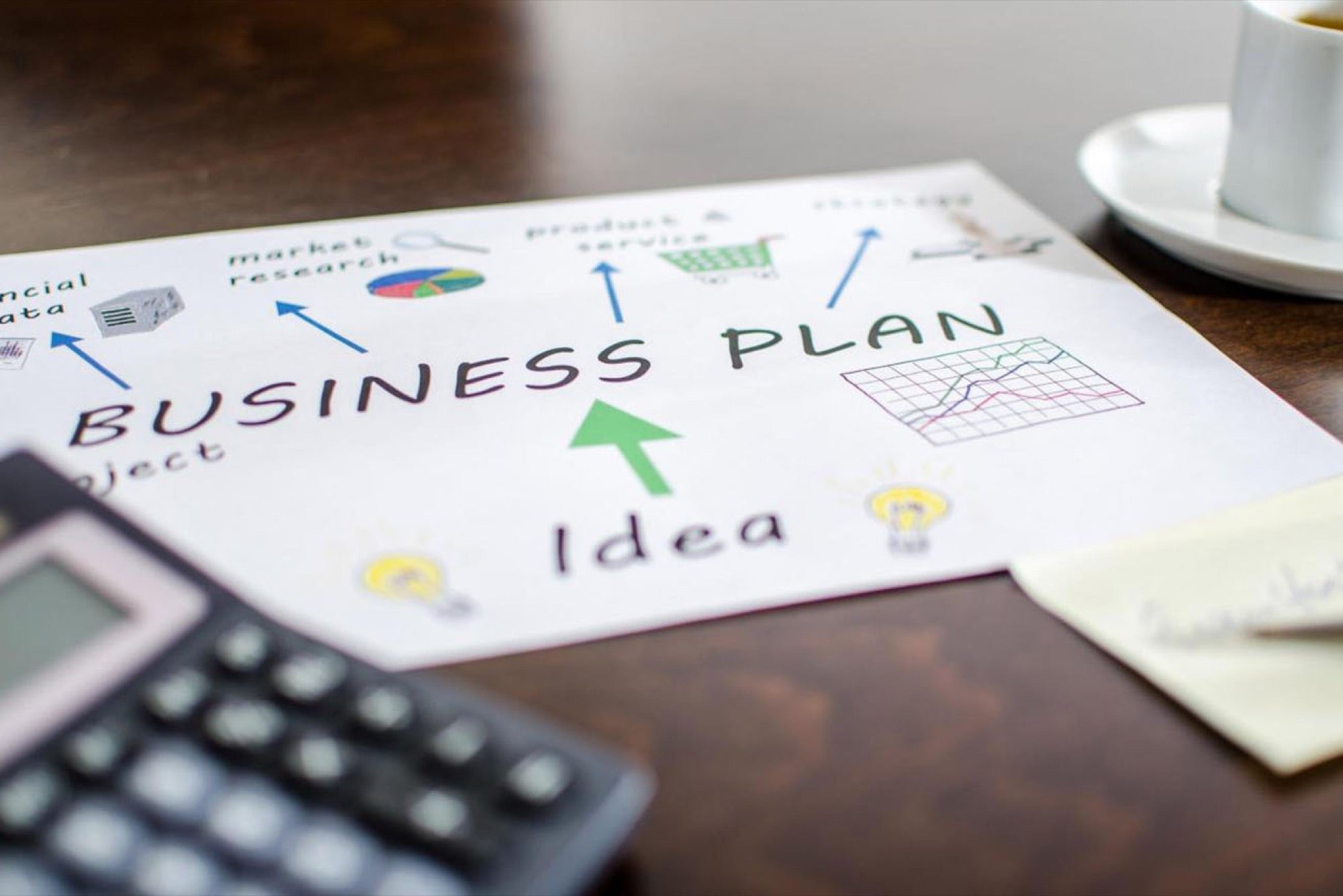 who should write a business plan