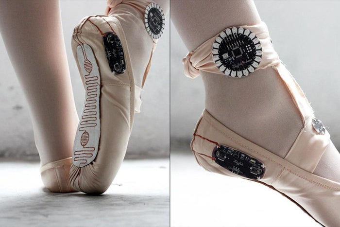 These 'Smart' Ballet Shoes Digitally Paint Dancers' Fancy Footwork