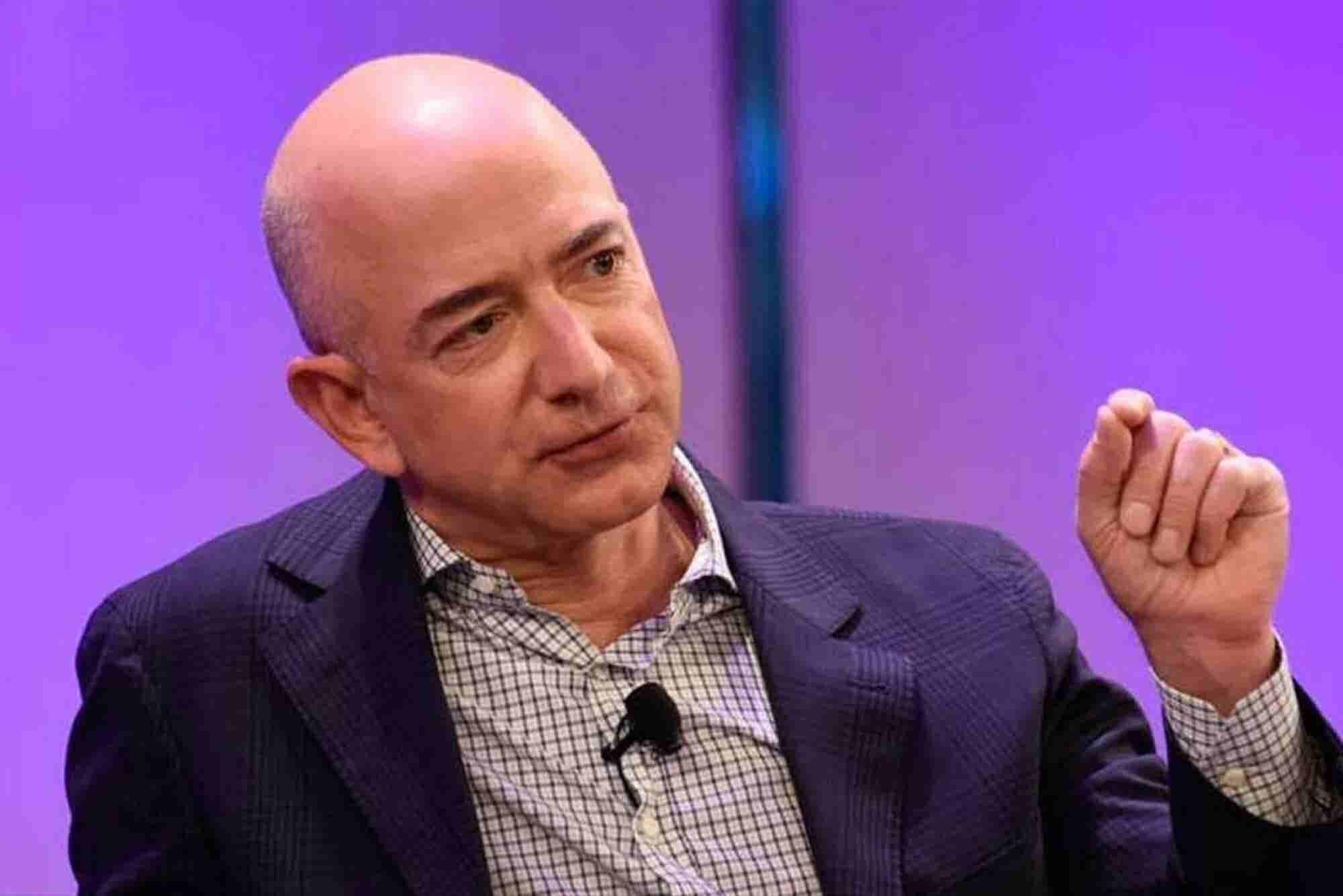 Amazon's Jeff Bezos: 'I've Made Billions of Dollars of Failures'