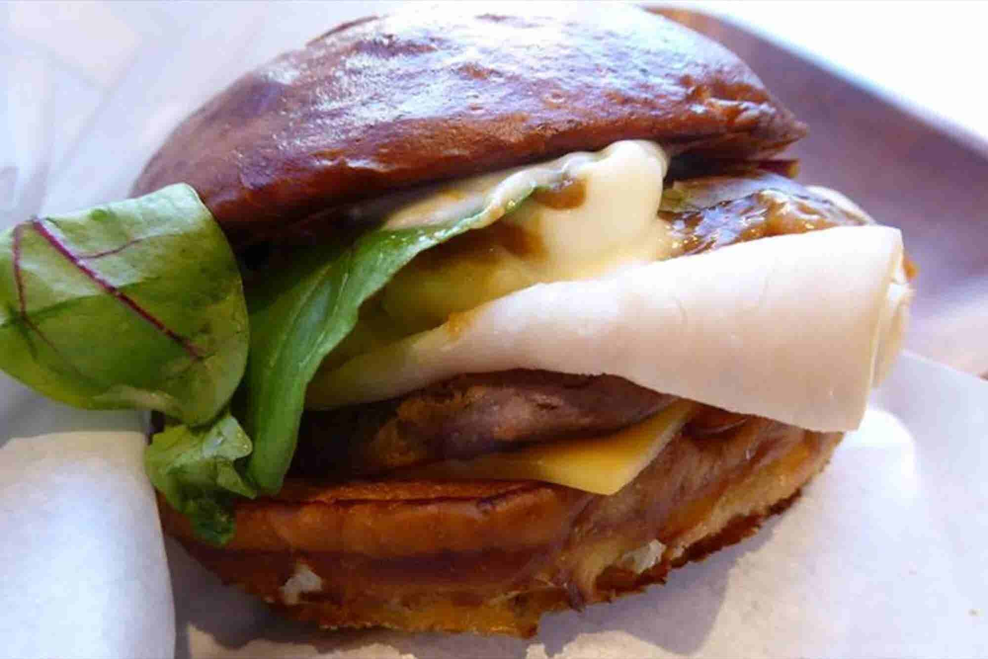 Wendy's Japan Crams Entire Turkey Dinner Between Two Buns