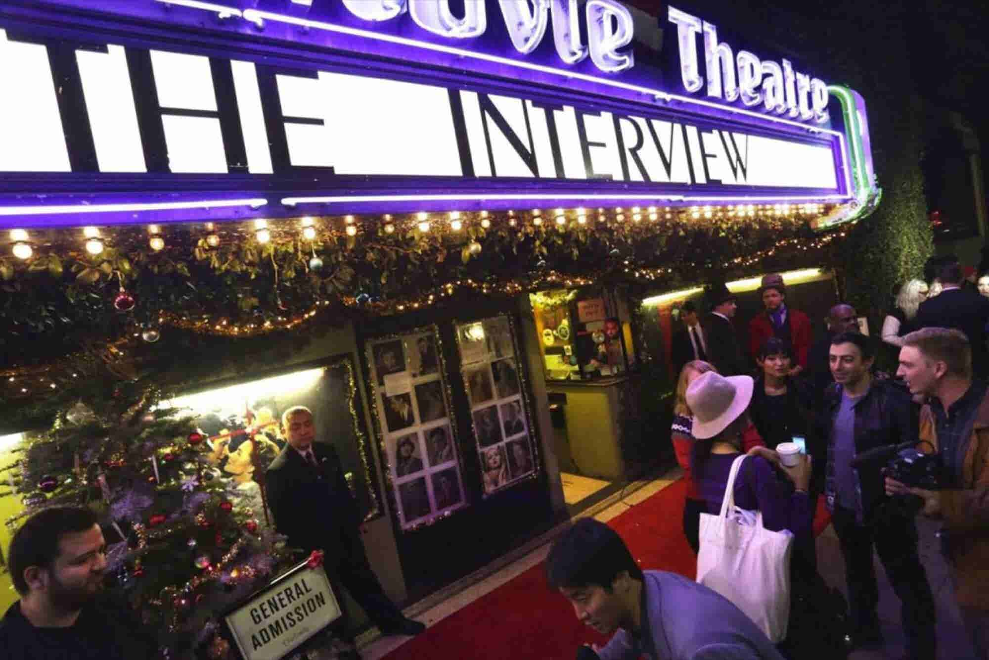 'The Interview' Draws Sell-Out Crowds
