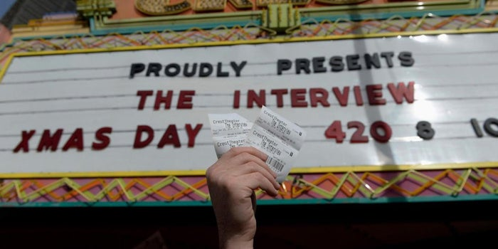 'The Interview' Earns $18 Million in Opening Weekend