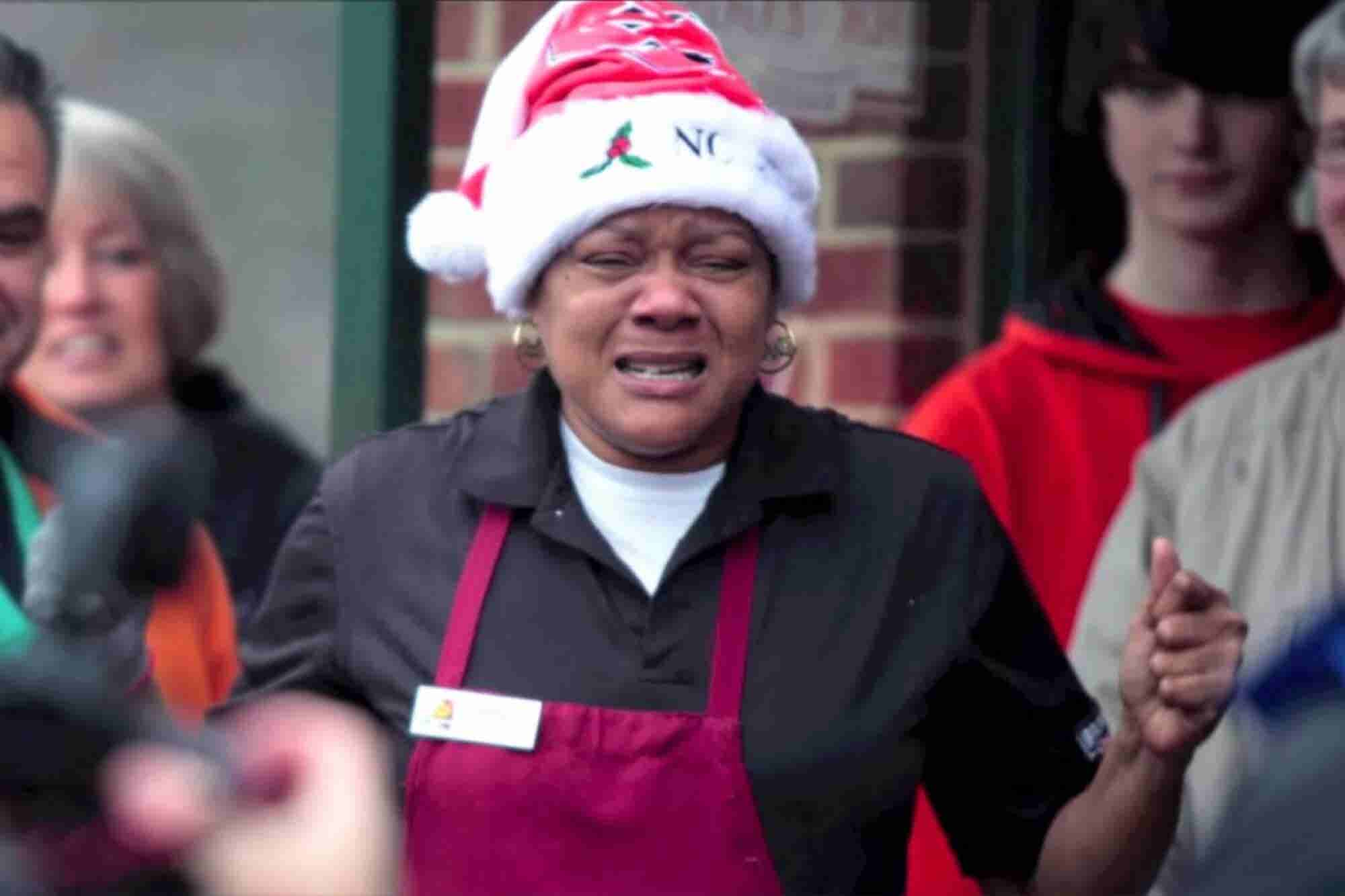 Watch: Customers Surprise Beloved Bagel Shop Worker With a Car
