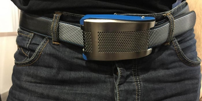 A 'Smart' Belt Automatically Adjusts to Keep Your Pants Up