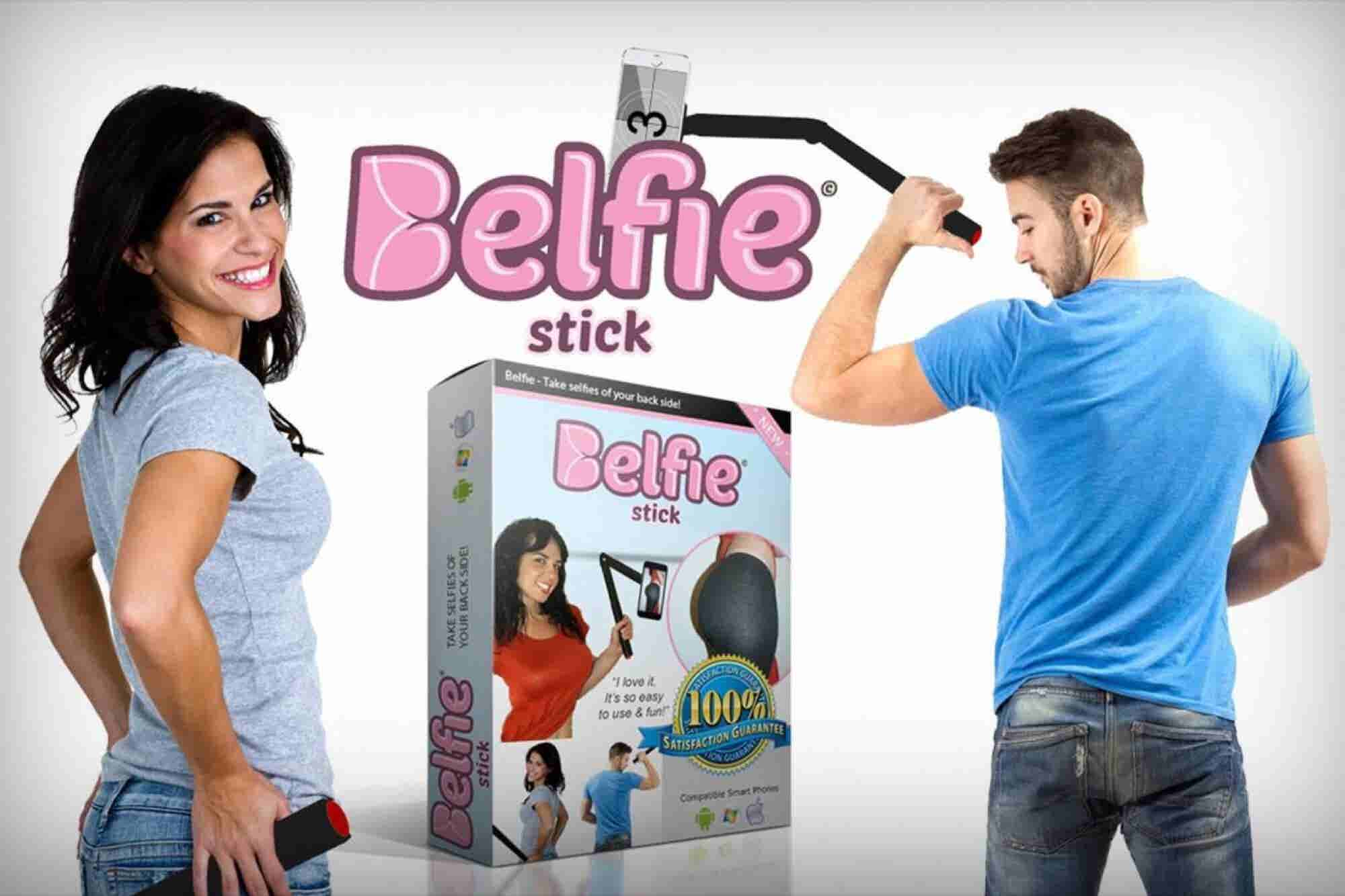 Behold the BelfieStick, an Even Bigger Bummer Than the Selfie Stick