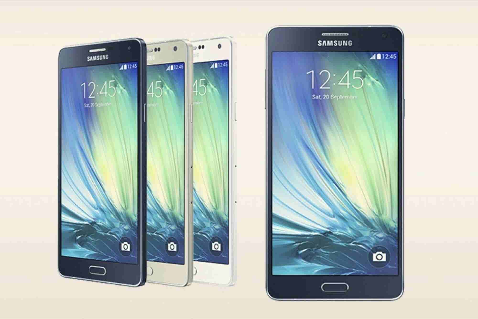 Samsung Just Announced a New Metal Galaxy Phone That's Thinner Than the iPhone 6