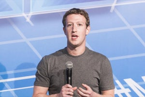 Mark Zuckerberg Spins Decline in Facebook Usage as a Good Thing