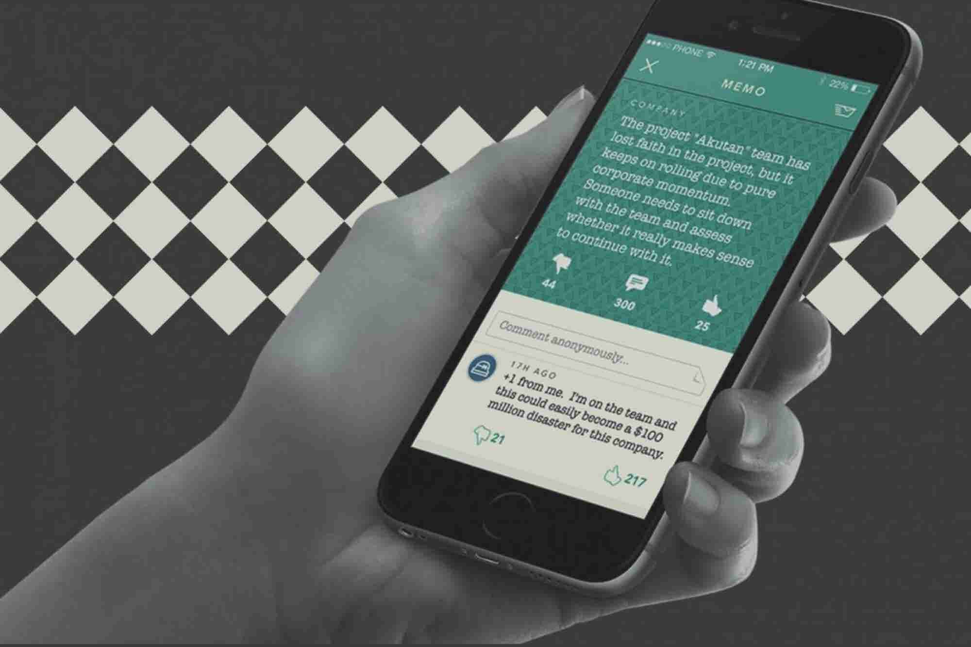Meet Memo, the Anonymous App That Could Revolutionize the Workplace