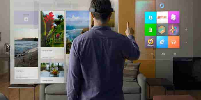 A Brief Yet Thrilling Experience With HoloLens, Microsoft's Augmented Reality Headset