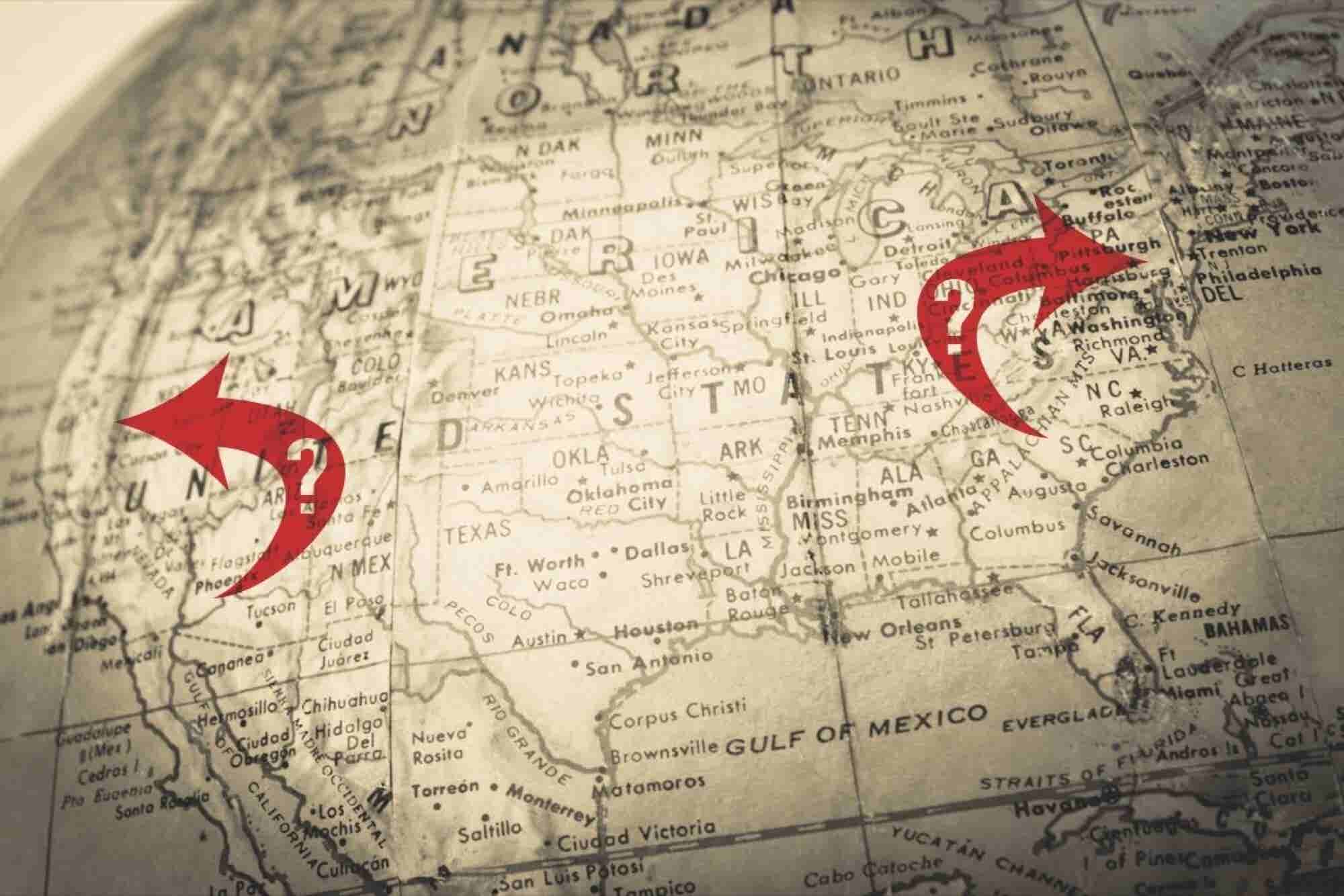 Should You Head to the East or West Coast to Launch Your Startup?