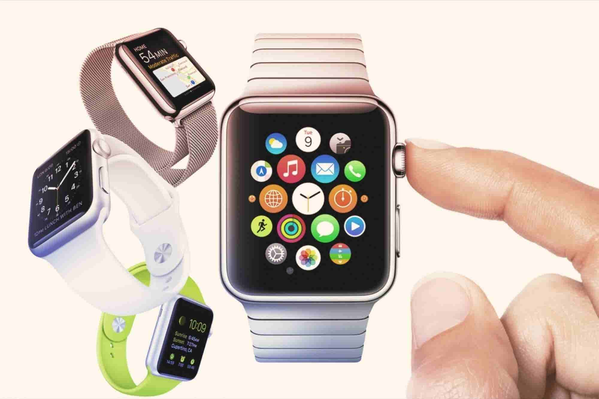 Strong Turnout as Shoppers Get to Try Apple Watch