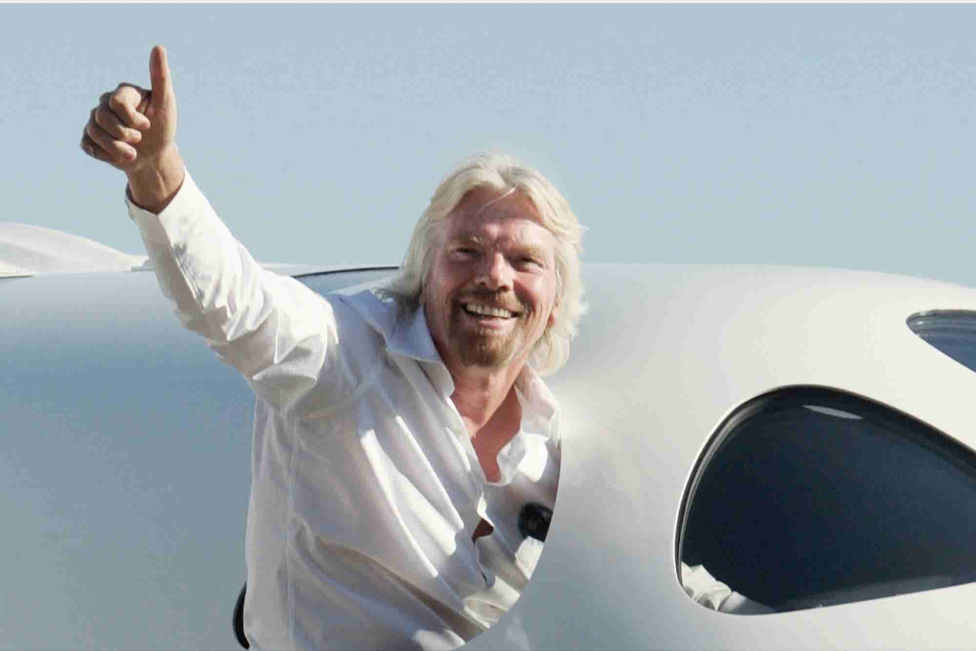 Richard Branson Now Offers Employees a Full Year of Parental Leave