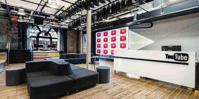 A Behind-the-Scenes Tour of YouTube's Free Production Facility in NYC
