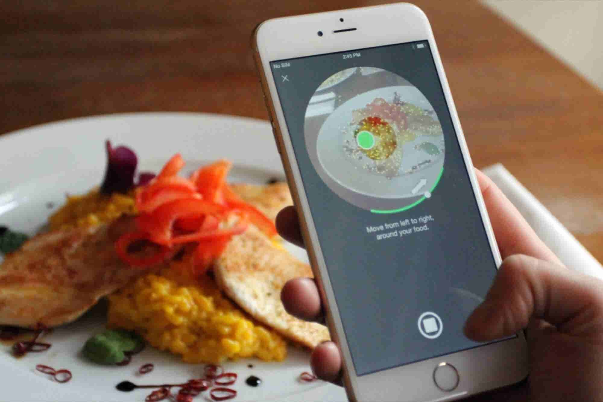 Pump Up Your Food Porn Game With This 3-D Photo App