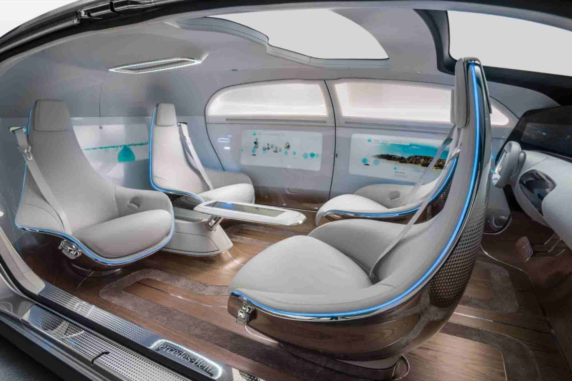 Mercedes-Benz Launches F 015 Luxury In Motion Concept Car