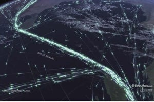 This Is the Most Beautiful Visualization of Global Trade You'll Ever See