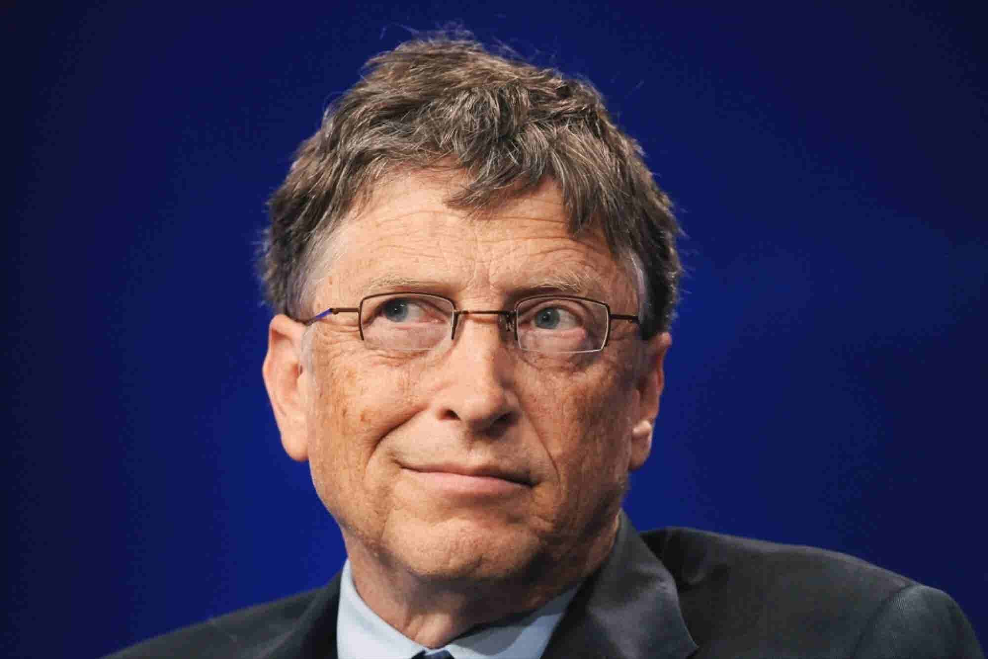 This Is What Bill Gates Says Makes Him Feel Powerless