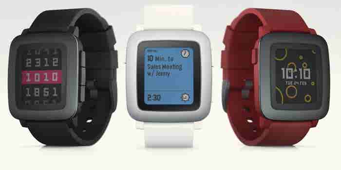 Pebble Is Launching a New Smartwatch Today on Kickstarter