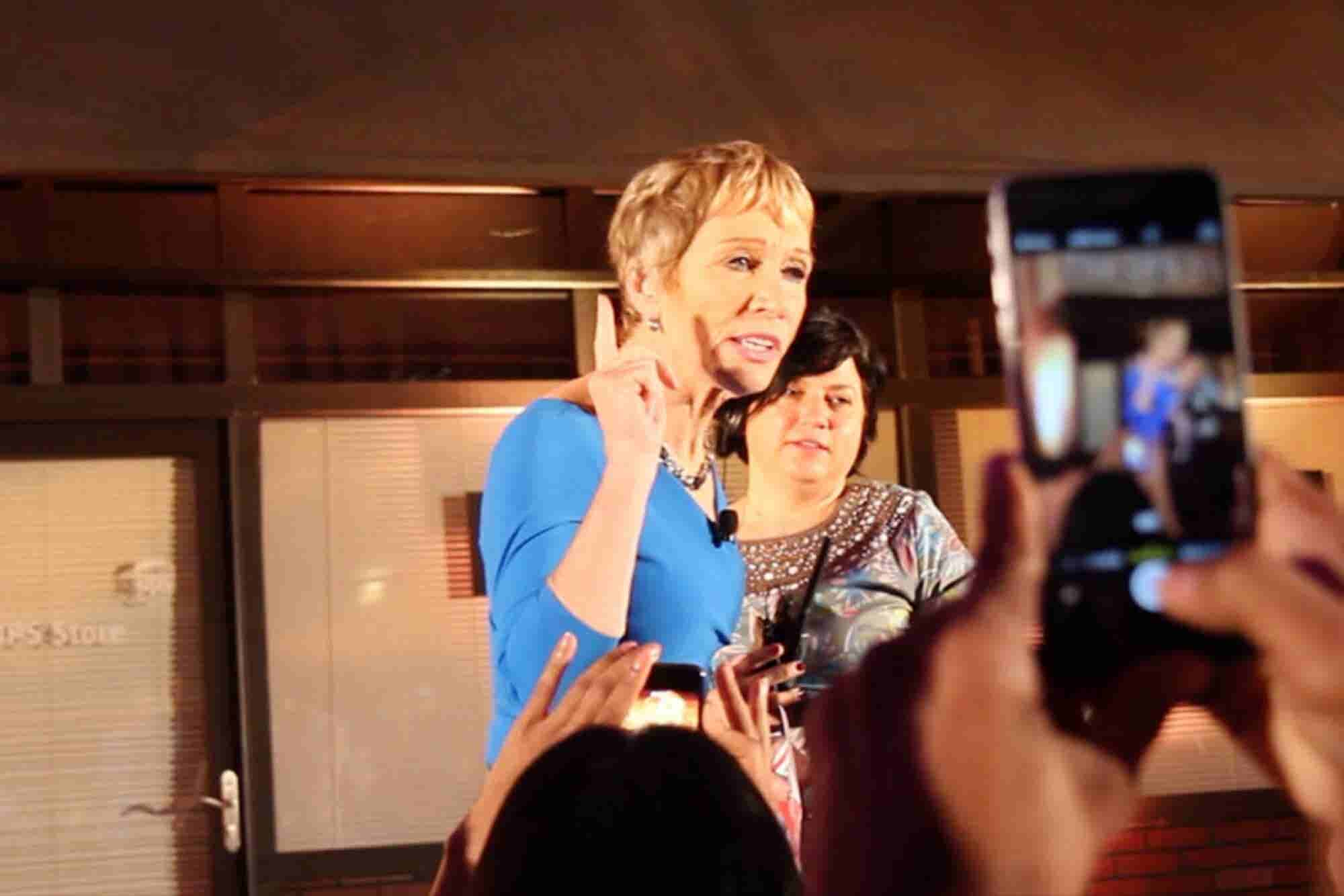 How Barbara Corcoran Turned Her Ex-Boyfriend's Insults Into Motivation...