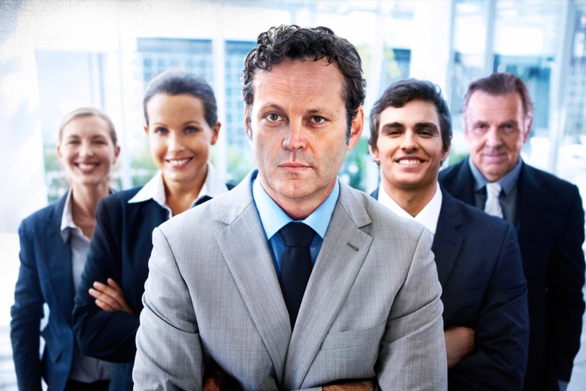 Vince Vaughn Is Now Appearing in Free, Cheesy Stock Images