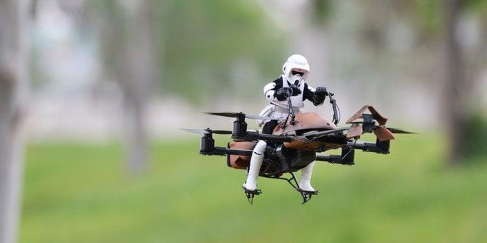 Star Wars + Drones = Dreams Come True