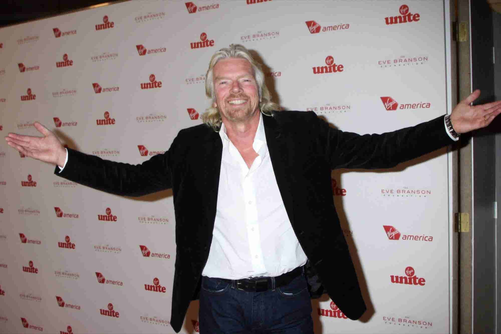 Richard Branson: Just Say Yes to Smoking Pot With Your Kids