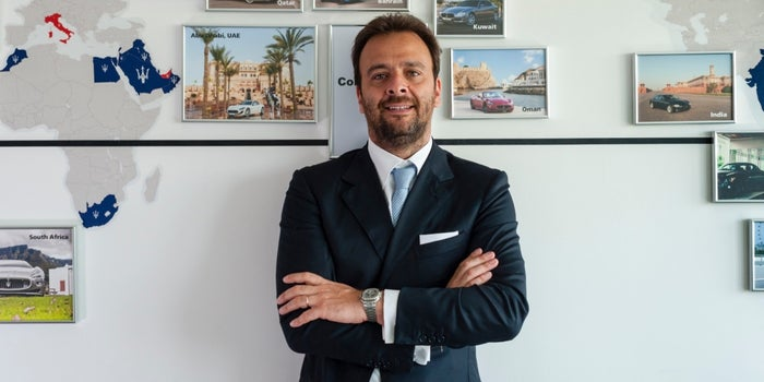 The Frontrunner: Maserati's Umberto Maria Cini On Catering to Car Connoisseurs
