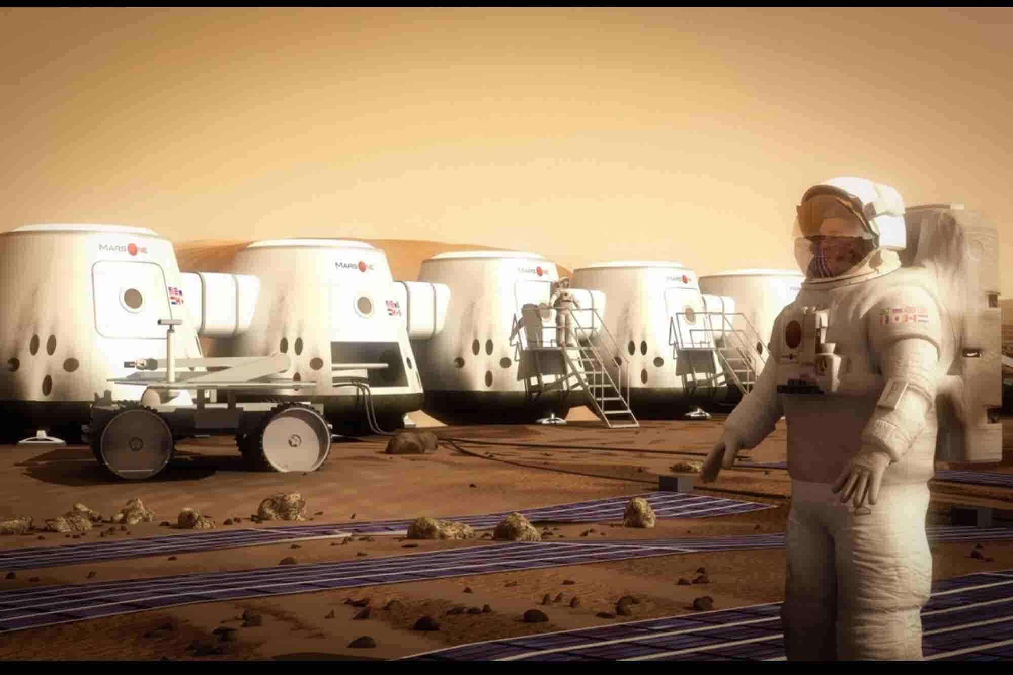 The Millionaire Entrepreneur Offering a One-Way Ticket to Mars