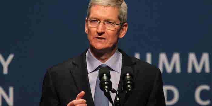 Apple's Tim Cook: We're Not Dodging Taxes